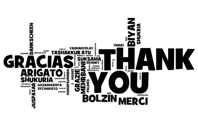 Thank you language image